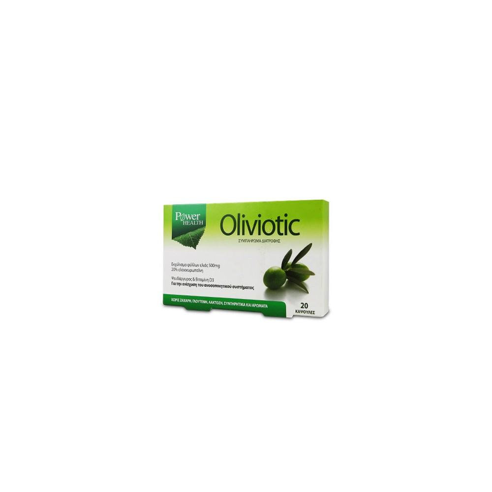 POWER HEALTH - Oliviotic 20caps
