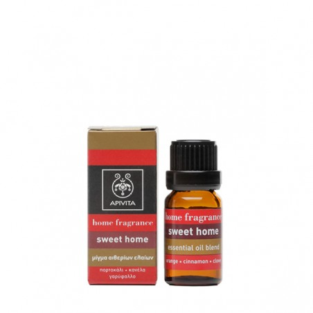Apivita Home Fragrance Sweet Home Μίγμα Αιθέριων Έλαιων 10ml
