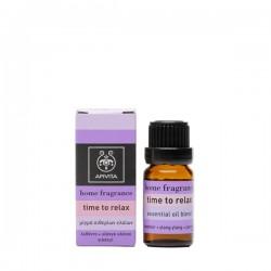 Apivita Apivita Essential Oil Time Τo Relax Μίγμα Αιθερίων Ελαίων με Λεβάντα - Γιασεμί & Υλανγκ Υλανγκ 10ml