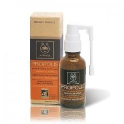 APIVITA - PROPOLIS Organic Spray for the Throat with marshmallow & propolis 30ml