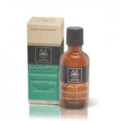 APIVITA - EUCALYPTUS Massage Oil for the Winter with eucalyptus & rosemary 50ml