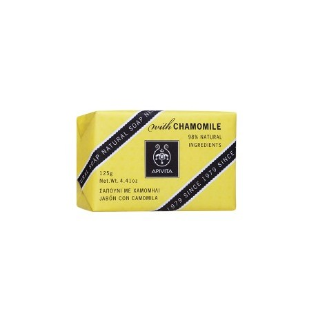 APIVITA - NATURAL SOAP Natural Soap with Chamomille with chamomile & honey 100g