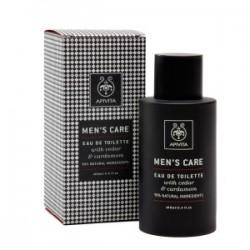APIVITA - MENS CARE Eau de Toilette with cardamom & cedar 100ml