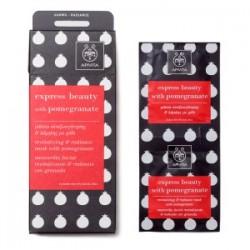 APIVITA - EXPRESS BEAUTY Revitalizing and Radiance Mask with pomegranate 2x8ml