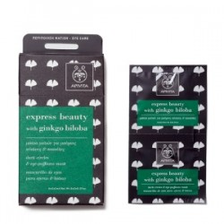 APIVITA - EXPRESS BEAUTY Dark Circles and Eye-Puffiness Mask with ginkgo 2x2ml