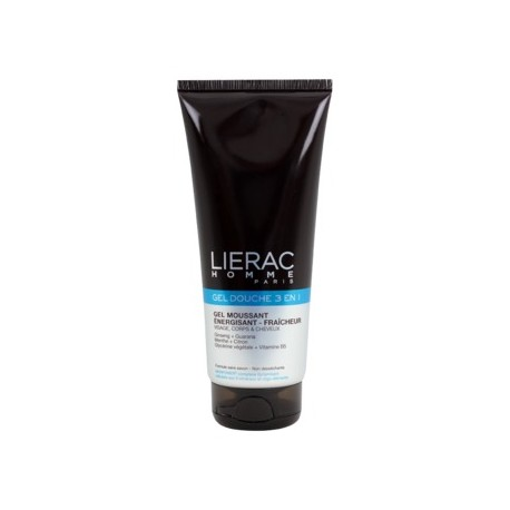 LIERAC - GEL DOUCHE INTEGRAL ALL-OVER SHOWER GEL - ENERGIZING FRESHNESS, tube 200ml