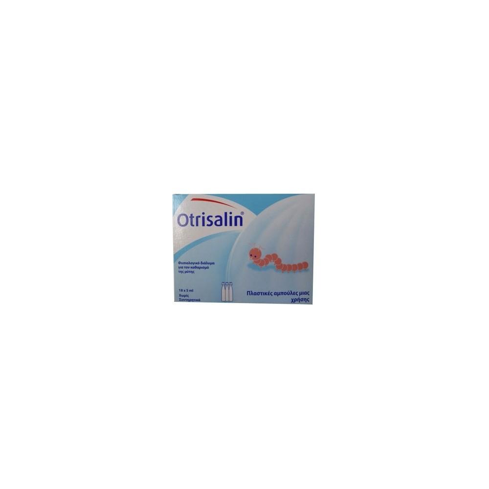 OTRISALIN PLASTIC CARTRIDGES 30x5 Nose Cleansing