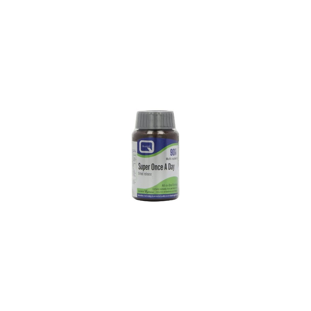 Quest - ONCE A DAY QUICK RELEASE multivitamins with antioxidants & chelated minerals 90TABS