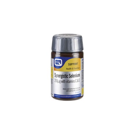 Quest - SYNERGISTIC SELENIUM 200μg with vitamins C & E