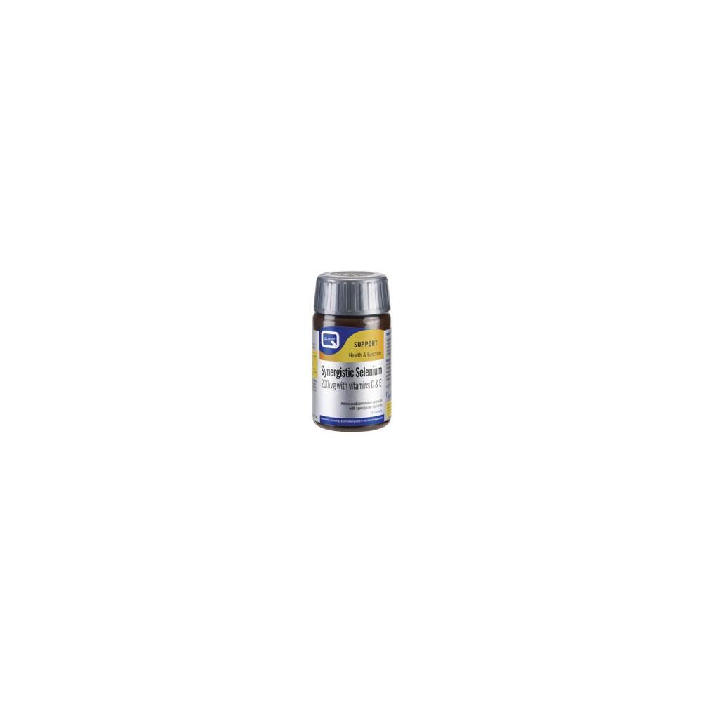 Quest - SYNERGISTIC SELENIUM 200μg with vitamins C & E