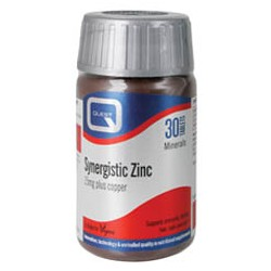 Quest - SYNERGISTIC ZINC 15mg with copper 30CAPS