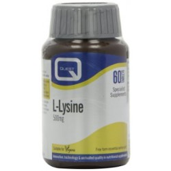 Quest L-Lysine 500mg 60tabs