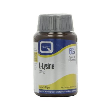 Quest - L-LYSINE 500mg 60CAPS