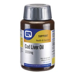 Quest - COD LIVER OIL 1000mg with vitamins A, D & E