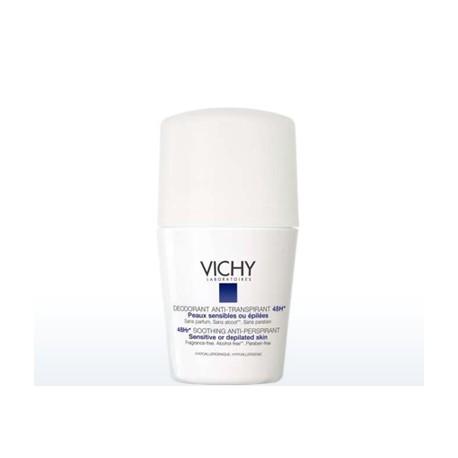 Vichy Deodorant Αποσμητικό Roll-On για Ευαίσθητες Επιδερμίδες