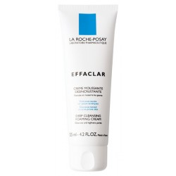 LA ROCHE POSAY - EFFACLAR Deep Cleansing Foaming Cream, 125 ml tube