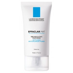 LA ROCHE POSAY - EFFACLAR MAT Sebo-regulating moisturizer. Anti-shine, anti-enlarged pores, 40 ml tube