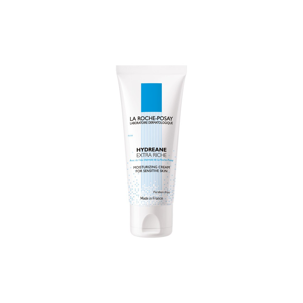 LA ROCHE POSAY - HYDREANE EXTRA RICHE Moisturizing Cream for Sensitive Skin, 40ml tube with outer package