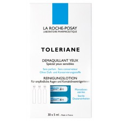 LA ROCHE POSAY - TOLERIANE EYE MAKE-UP REMOVER Removes make-up safely, instantaneously, effectively and without rubbing for peop