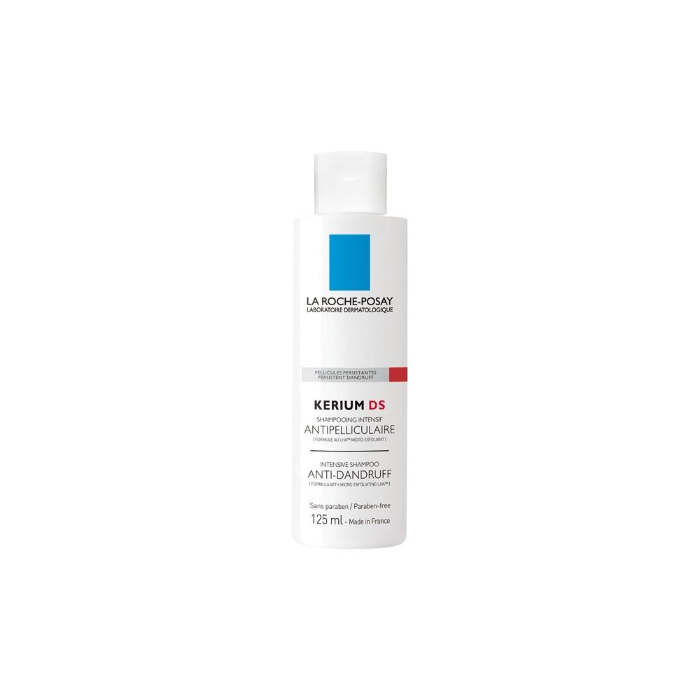 LA ROCHE POSAY - KERIUM DS ANTI-DANDRUFF INTENSIVE Micro-exfoliating treatment shampoo, 125 ml bottle