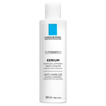 LA ROCHE POSAY - KERIUM ANTI-HAIRLOSS SHAMPOO-COMPLEMENT Anti-Hairloss Shampoo-Complement, 200 ml bottle