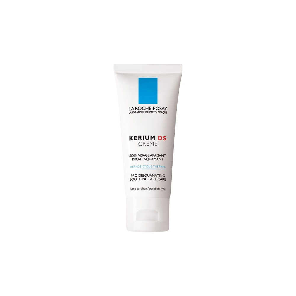 LA ROCHE POSAY - KERIUM DS CREAM PRO-DESQUAMATING SOOTHING FACE CARE, 40ml tube