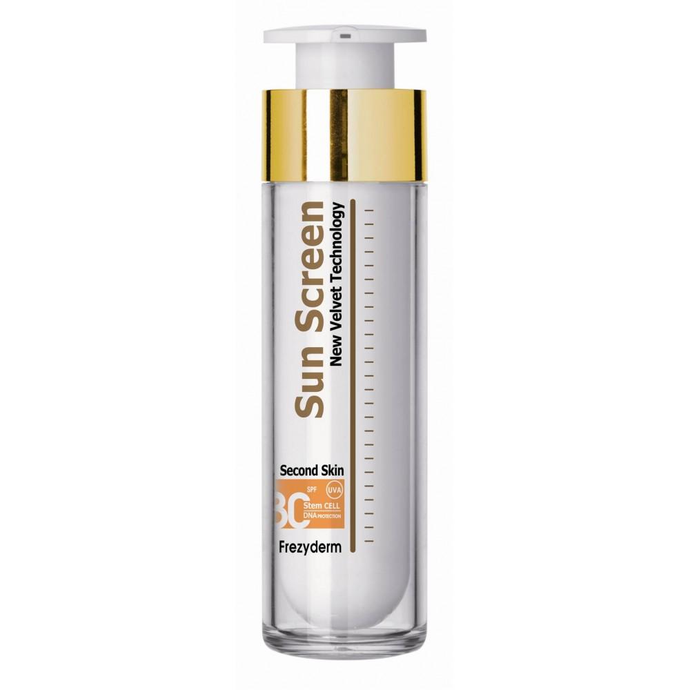 FREZYDERM Sun Screen Velvet Face Cream SPF 30/ UVA, 50 ml