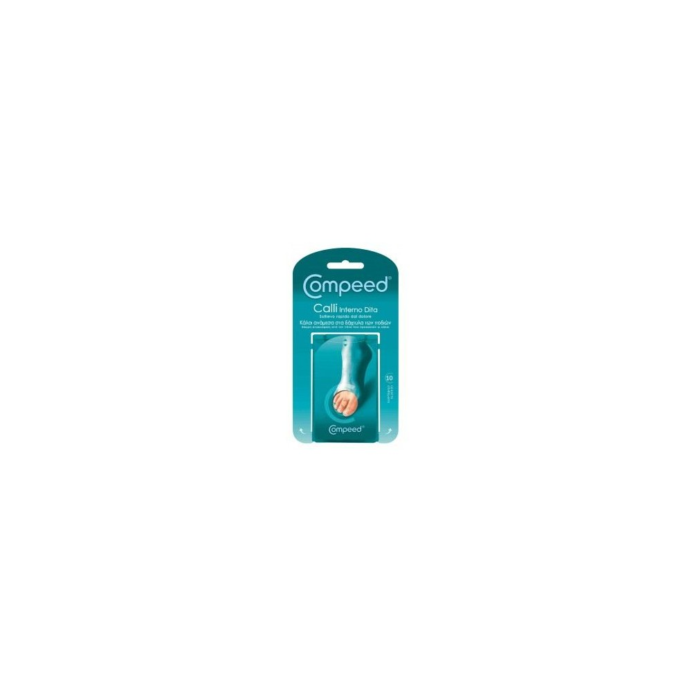 COMPEED CORNS BET/N TOES 10 Items