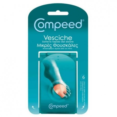 COMPEED BLISTERS SMALL 6 Items