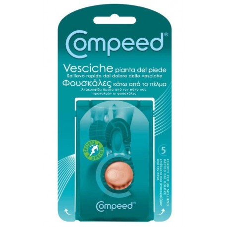 COMPEED BLISTERS UNDERFOOT (5 patches)