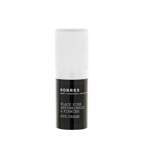 KORRES - BLACK PINE ANTIWRINKLE & FIRMING EYE CREAM For eyes, 15mL