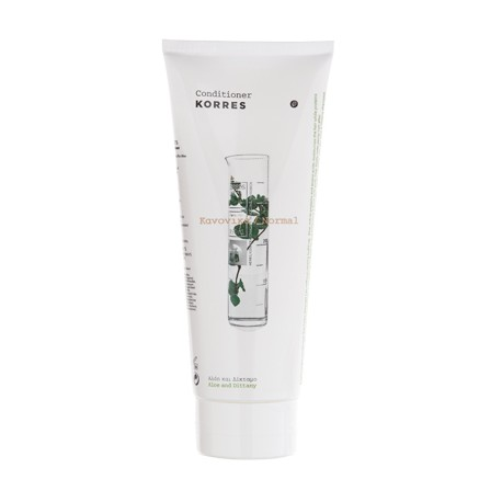 KORRES - ALOE & DITTANY CONDITIONER For normal hair, 200mL