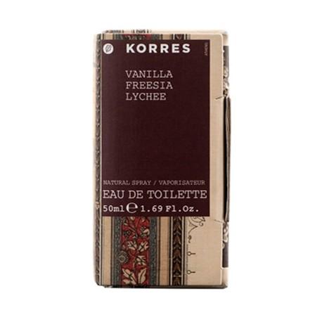 KORRES - FRAGNANCE VANILLA / FREESIA / LYCHEE Eau de toilette for women, 50mL