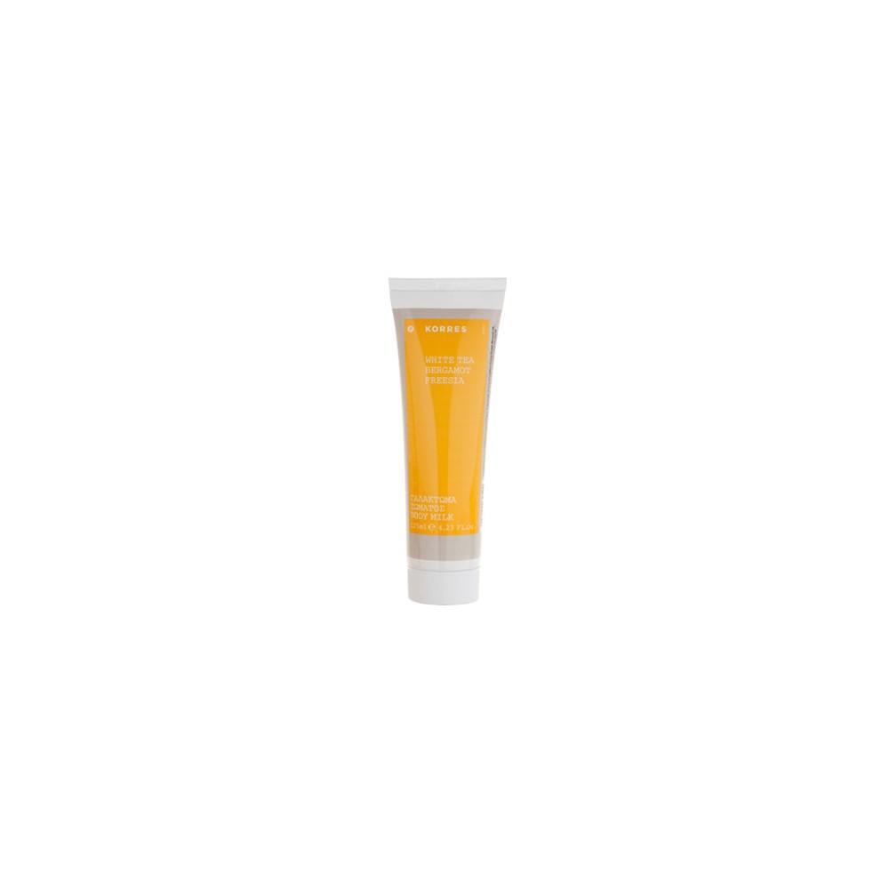 KORRES - FRAGNANCE WHITE TEA / BERGAMOT / FREESIA Body milk, 125mL