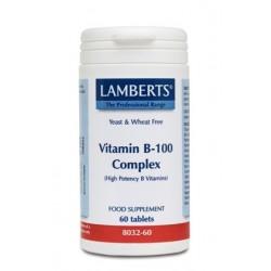 Lamberts - VITAMIN B-100 COMPLEX, 60TABS