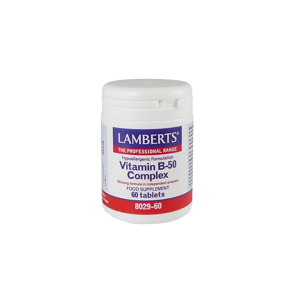Lamberts - Vitamin B-50 Complex, 60Tabs