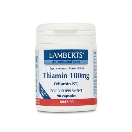 Lamberts - Thiamin 100mg (Vit B1), 90caps