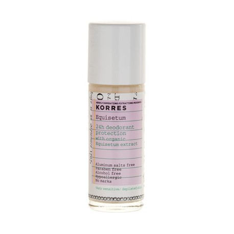 KORRES - BODY EQUISETUM DEODORANT Sensitive/ depilated skin, 30mL
