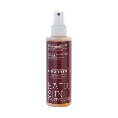 KORRES - SUNCARE HAIR SUN PROTECTION RED VINE For all hair types, 150mL