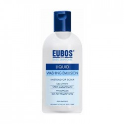Eubos Blue Liquid Washing Emulsion Προσώπου & Σώματος 200ml