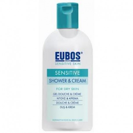 EUBOS - SENSITIVE SHOWER & CREAM, 200ml