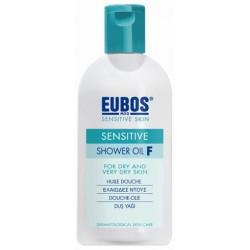 EUBOS - SHOWER OIL F Green, 200ml