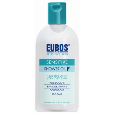EUBOS - SHOWER OIL F Green, 200ml