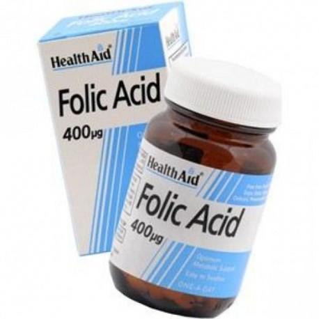 HEALTH AID - Folic Acid 400mcg, 90 Tablets