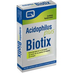 Quest - Acidophilus Plus Biotix Vitamins, 30caps