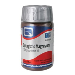 Quest - Synergistic Magnesium 150mg Plus B6, 60 ταμπλέτες