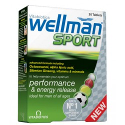 Vitabiotics - WELLMAN Sport, 30 tabs