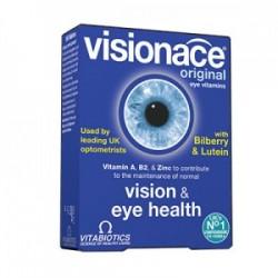 Vitabiotics Visionace Συμπλήρωμα Διατροφής για τη Διατήρηση της Καλής Όρασης 30tabs