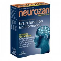 Vitabiotics Neurozan Σύνθεση Θρεπτικών Συστατικών για την Υγεία του Εγκεφάλου 30tabs