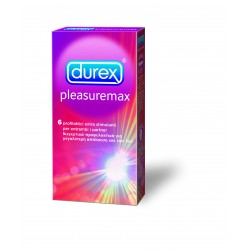 Durex - Pleasuremax 6 τεμ.